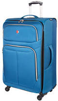 Swiss Gear Light Flyer 28-Inch Expandable Upright 360 Degree Spinner Suitcase