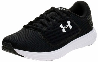 Under Armour Women's Surge SE Running Shoes Black (Black/White/White (001) 001) 8.5 UK 43 EU