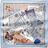 Cartier 13 Rue de la Paix silk scarf