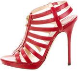Jimmy Choo Leather Gladiator Sandals