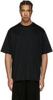Song For The Mute Black Oversized beau T-shirt