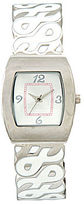 JCPenney Womens Breast Cancer Pink Ribbon Bangle Watch