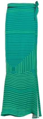 AMIR SLAMA Long Printed Skirt