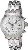 Tissot Women's Swiss Quartz Stainless Steel Quartz Watch, Color:Silver-Toned (Model: T0552171103300)