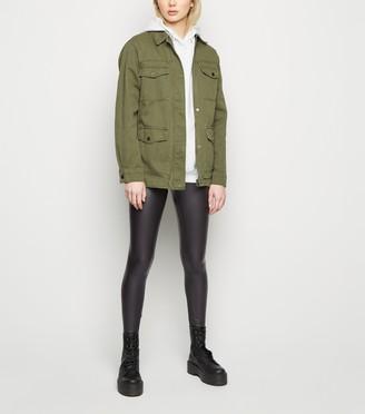 New Look Leather-Look Leggings