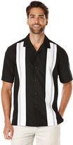 Cubavera Big & Tall Short Sleeve Tri Color Panel Shirt