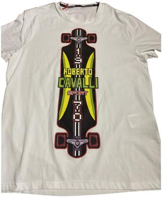Roberto Cavalli White Cotton T-shirts