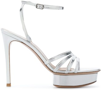 Gianvito Rossi Platform Multi-Strap Sandals