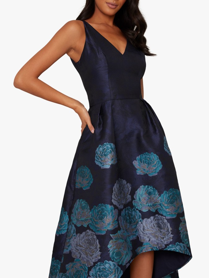 Chi Chi London Niquita Dress, Navy