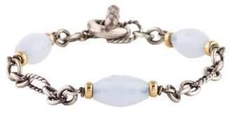 David Yurman Chalcedony Chain Bracelet