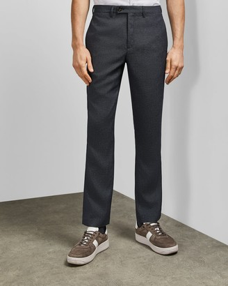 Ted Baker Slim Fit Textured Trousers