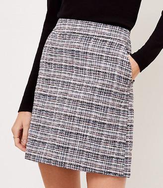 LOFT Tweed Pocket Mini Skirt
