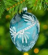 Southern Living Homestead Holidays Flourish Egg Ornament