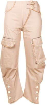 Christian Dior Pre-Owned multi-pocket trousers