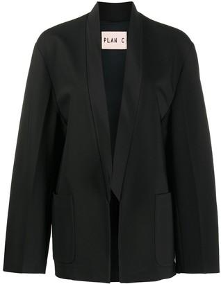 Plan C Open-Front Blazer