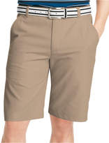 Izod Solid Flat Front Golf Shorts