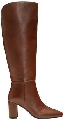 Aerosoles Tall-Shaft Block-Heel Leather Boots -Nik of Time