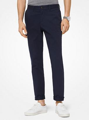 Michael Kors Slim-Fit Cotton-Twill Chino Pants