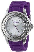 Versus By Versace Versus Versace Unisex Tokyo 38 MM - SH701 0013 Silver/Purple Watch
