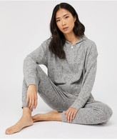 Accessorize Lounge Hoodie - Grey Marl