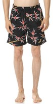 Stussy Bamboo Print Swim Trunks