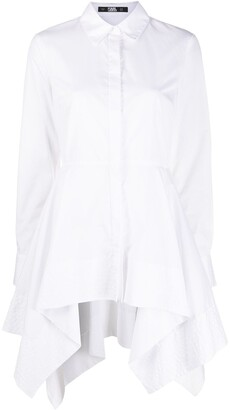Karl Lagerfeld Paris Peplum Tunic Shirt
