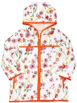Margherita Toddler Girl's Wildflower Print Raincoat