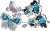 Napier Triple Butterfly Pin