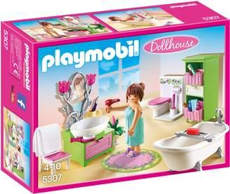 Playmobil 5307 Dollhouse Vintage Bathroom.