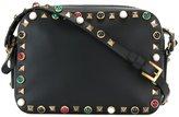 Valentino Garavani Valentino Rockstud Rolling crossbody bag - women - Calf Leather/plastic/metal - One Size