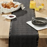 Crate & Barrel Bowry Felt Table Runner