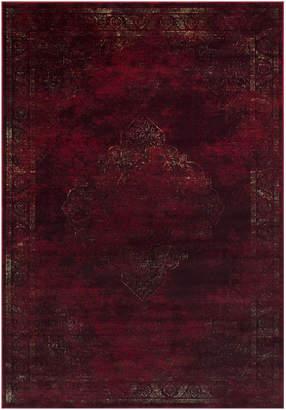 Allstar Rugs Persian Rectangular Accent Rug, Burgundy, 8'x10'