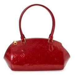 Louis Vuitton Vintage Monogram Vernis Sherwood PM Patent Leather Handbag