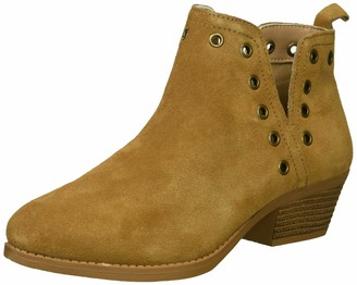 Skechers Women's Lasso-Auger-Short Deco Eyelet Ankle Boot