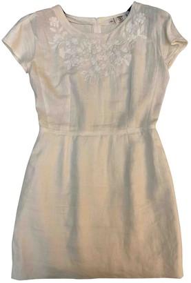 Valentino White Linen Dresses