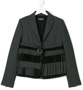 DSQUARED2 teen fringed blazer