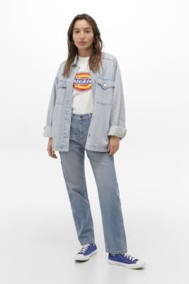 Dickies Carpenter Jeans - Blue 26 at Urban Outfitters