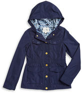 London Fog Girls 7-16 Girls Hooded Utility Jacket