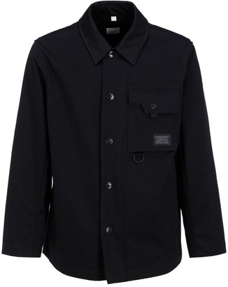 Burberry Logo Applique Bonded Jacket