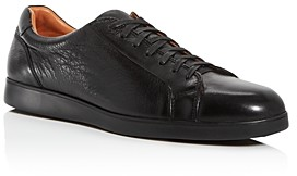 Gentle Souls by Kenneth Cole Men's Ryder Leather Low-Top Sneakers