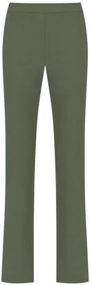 Gloria Coelho High Rise Straight-Fit Trousers