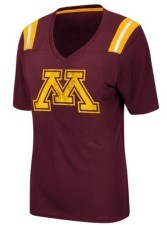 Colosseum Women's Minnesota Golden Gophers Rock Paper Scissors T-Shirt
