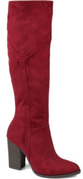 Journee Collection Women's Kyllie Wide Calf Boots Women's Shoes