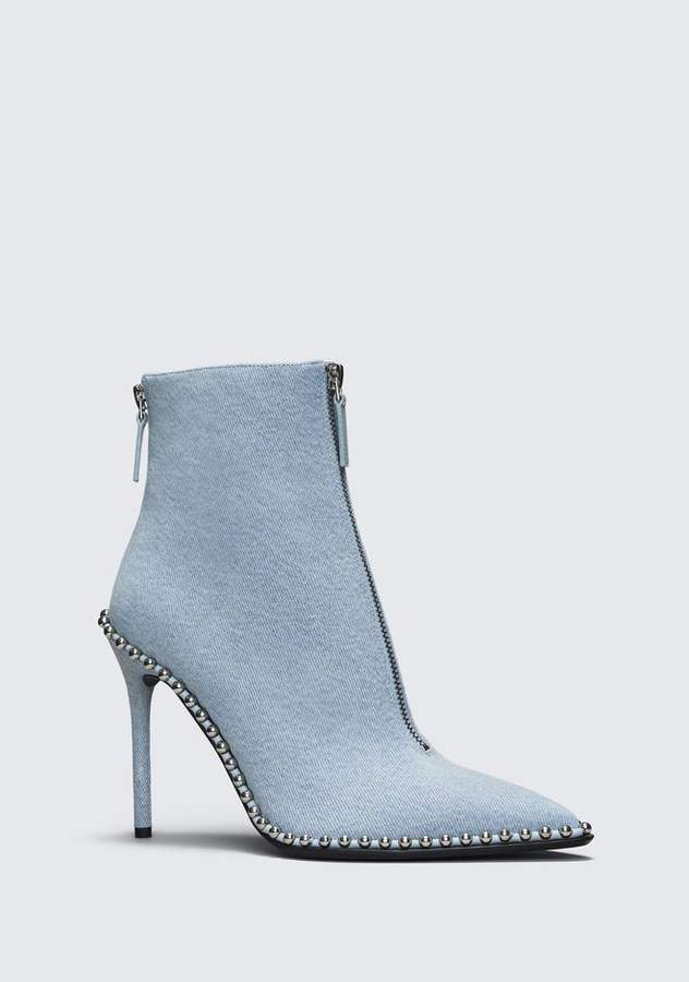 Alexander Wang ERI DENIM BOOT BOOTS