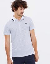 Lacoste Ultra Dry Fine Stripe Polo