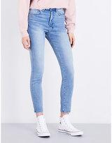 Ksubi Ladies Black Classic Hi & Wasted Skinny High-Rise Jeans