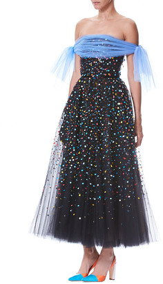 Carolina Herrera Silk Cocktail Dress