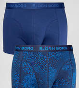 Bjorn Borg 2 Pack Trunks With Animal Print