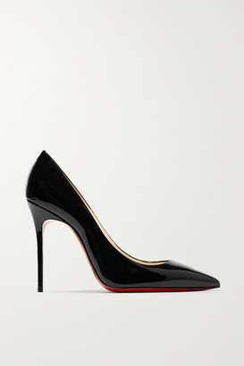 Christian Louboutin Decollete 554 100 Patent-leather Pumps - Black