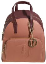 "Trussardi Ischia"" Saffiano Faux Leather Backpack"""